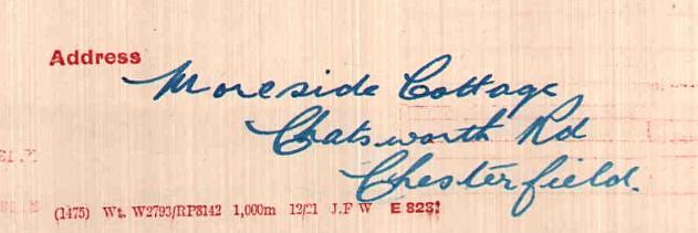 Robinson VO address