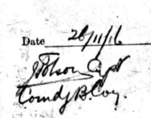 Tolson signature