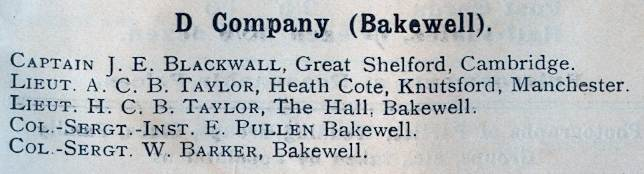 D Company 1911
