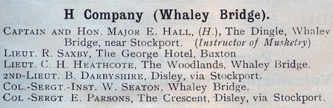 1911 H Company