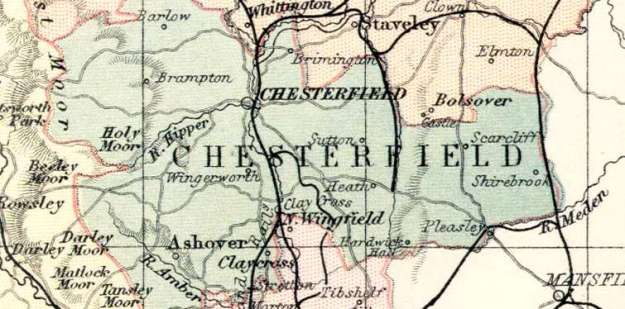 Chesterfield Map