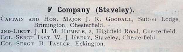 F Company 1911