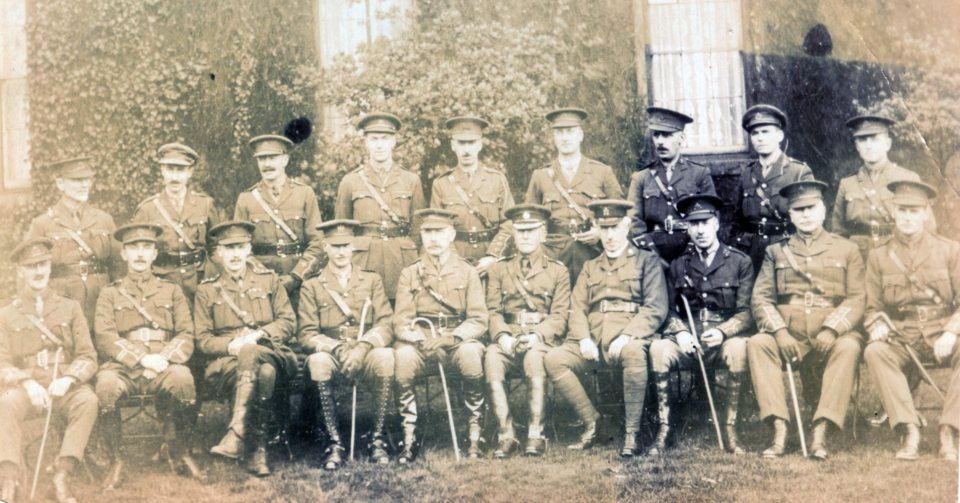 Officers 1918