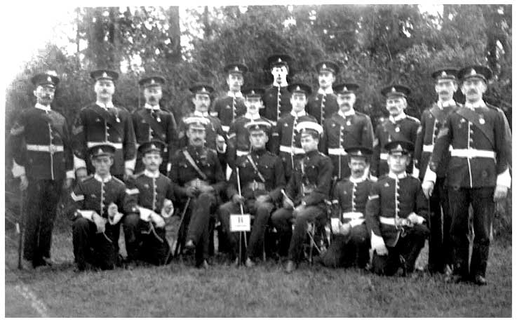 Whaley Officers and NCOs