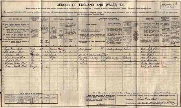 Flint 1911 Census