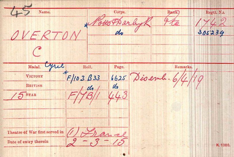 1742 Overton