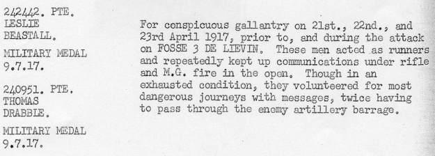 242442 Beastall April 1917