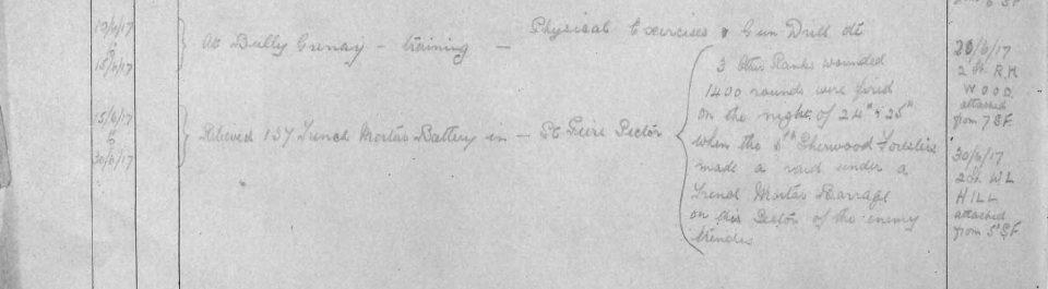 June Raid 1917