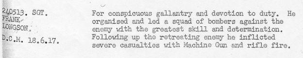 Longson DCM June 1917
