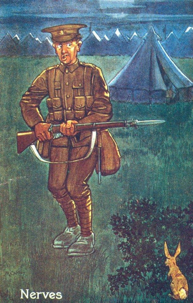 1915 Dunstable card