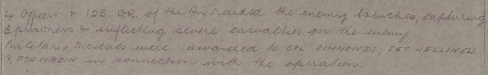 November 1917 2107 Bramwell