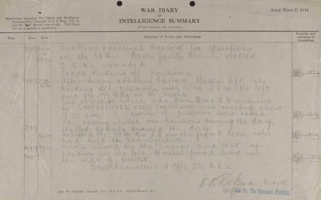 2:6th 27th September 1917