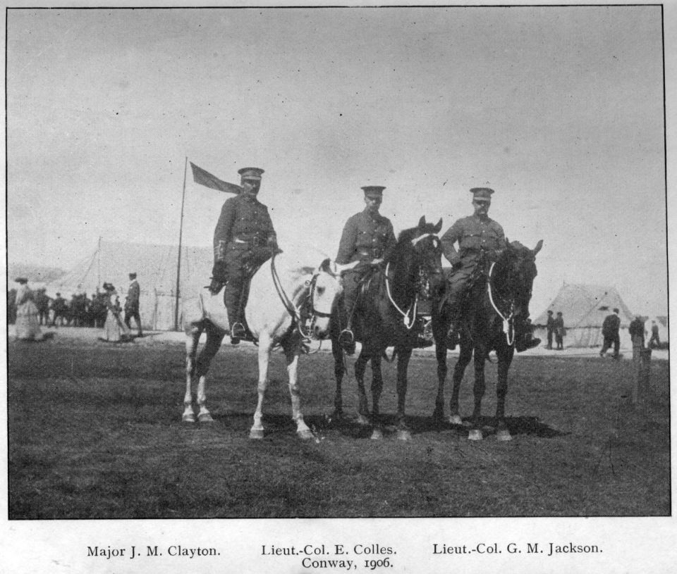 1906 Conway Officers