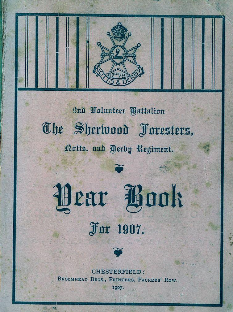 1907 Tear Book