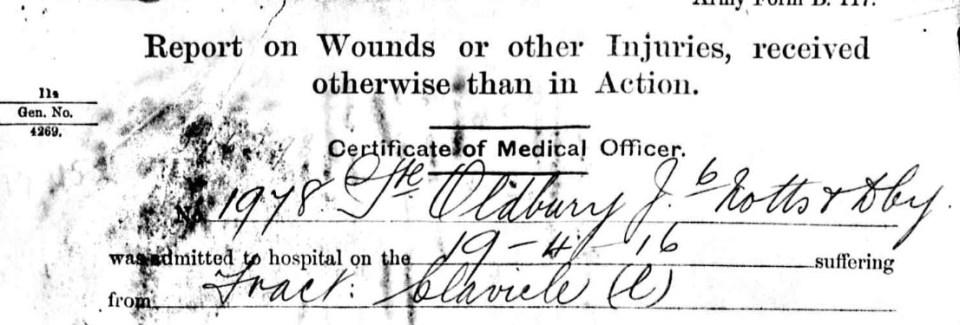 1978 oldbury injury