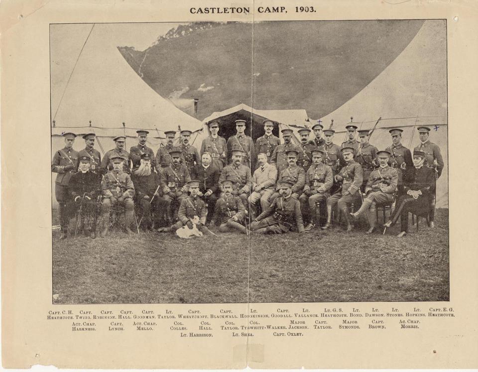 Castelton Camp 1905