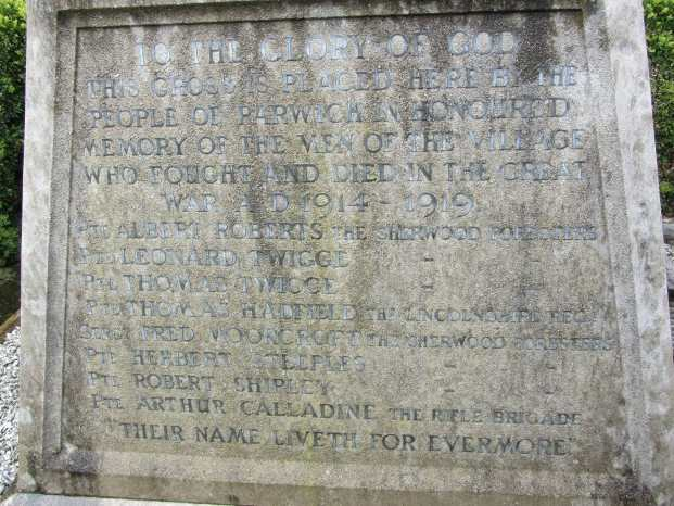 Parwich Memorial