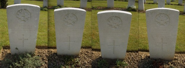 March 1916 graves