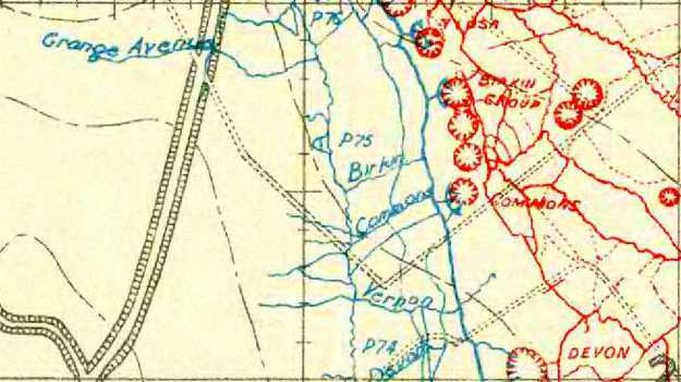 Mine March 1916