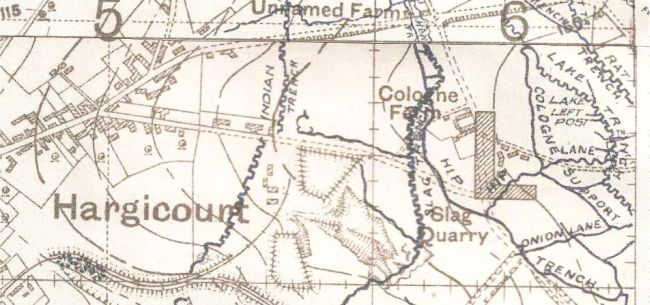 Cologne Farm 1917