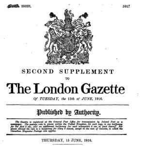 LG 15 June 1916