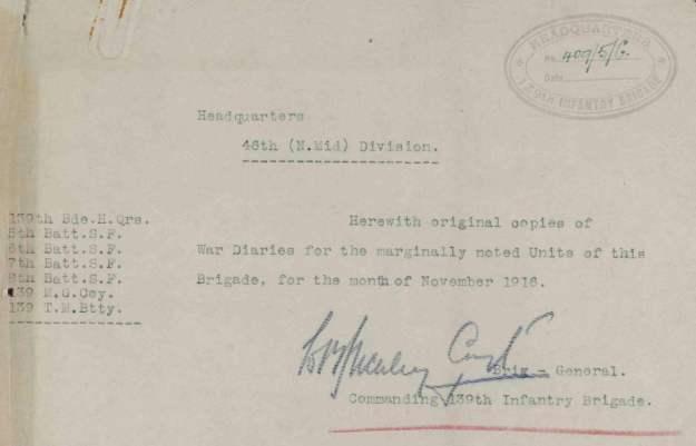 139 November 1916