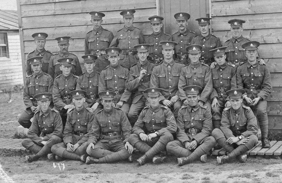 Horace Allen group 1916