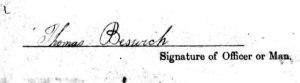 1769 beswick sig