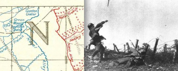 Advanced posts may 1917