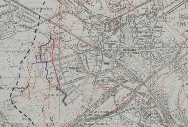 1 jult 1917 map
