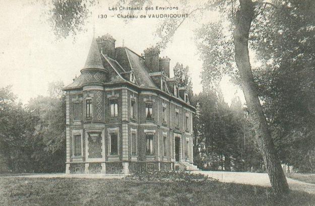 Vaudricourt_château