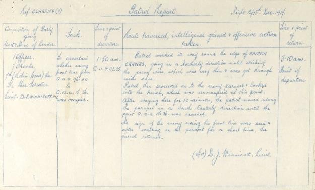 winnicott-raid-december-1917